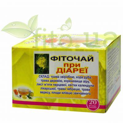 Натуральний чай при діареї в фільтр пакетах