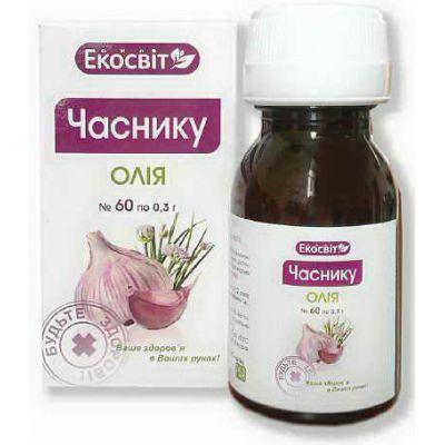 Часникова олія - Фитоаптека натуральних препаратів
