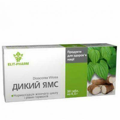 Дикий ямс, діоскорея, в таблетках, для жінок, купити, фітоаптека, харків - Фитоаптека натуральних препаратів