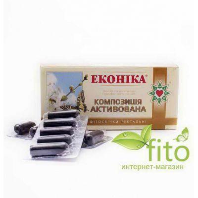 Фiтоаптека з екстрактом Еконіка, призначені для ефективного відновлення