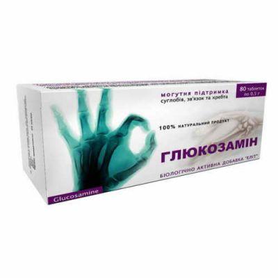 Натуральний препарат для суглобів і хрящів Глюкозамін