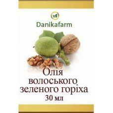 Масляний екстракт з плодів зеленого волоського горіха
