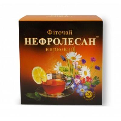 М'який сечогінний чай в фільтр-пакетах