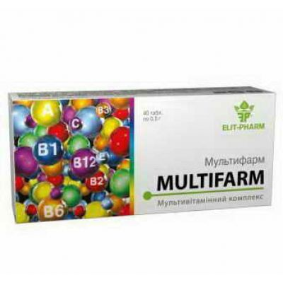 Мультивітамінний комплекс - Інтернет аптека Фіто