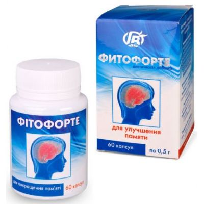Препарат для пам'яті - Фитоаптека натуральних препаратів