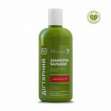 Шампунь - бальзам для відновлення волосся Дегтярний яка