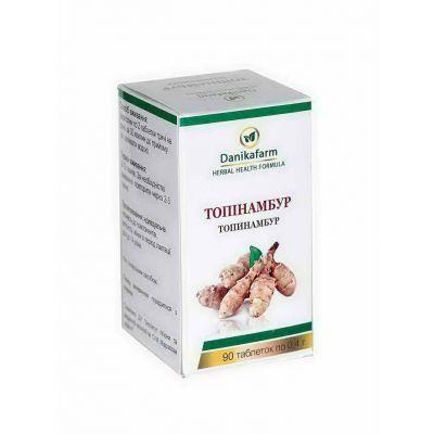 Топінамбур натуральний фіто препарат в таблетках
