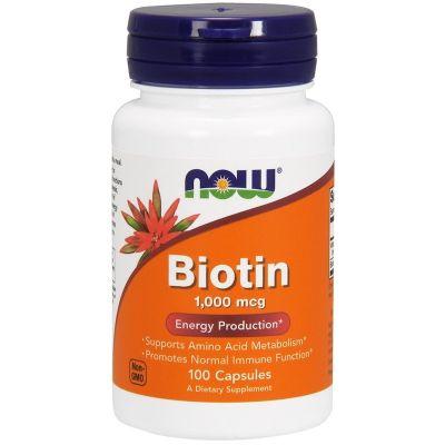 Вітамінний комплекс Біотин в капсулах США