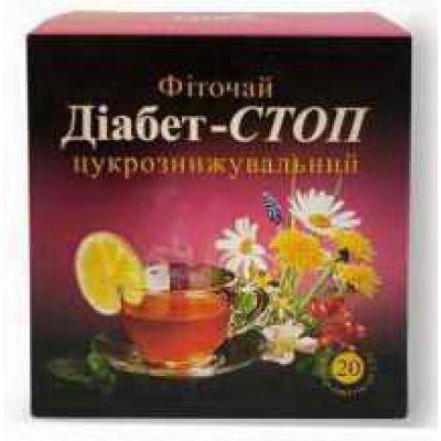 Чай при цукровому діабеті - Трав'яна аптека Фіто