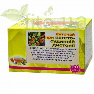 Збір трав від вегетосудинної дистонії - фіточай