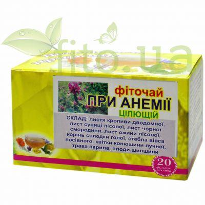 Збір трав при анемії - фіточай