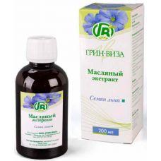 Екстракт олії насіння льону