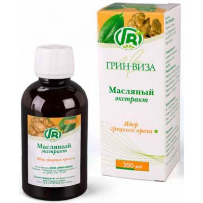 Олія волоського горіха - Інтернет аптека Фіто