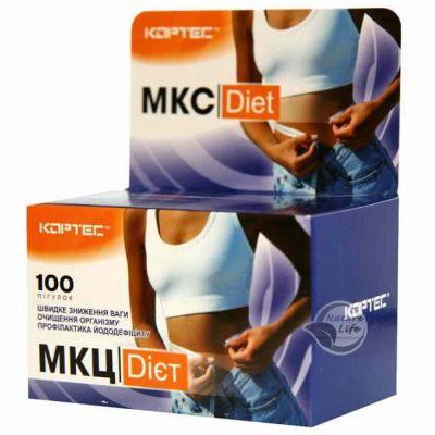 Джерело харчових волокон МКЦ для схуднення, знижує рівень цукру і холестерину
