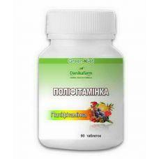Полівітаміни в таблетках Поліфітамінка