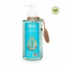 Шампунь - бальзам для зміцнення волосся з лляною олією і ефірними оліїми яка