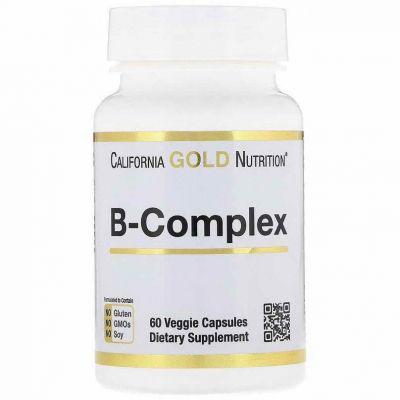 Вітамін Б в капсулах California Gold Nutrition