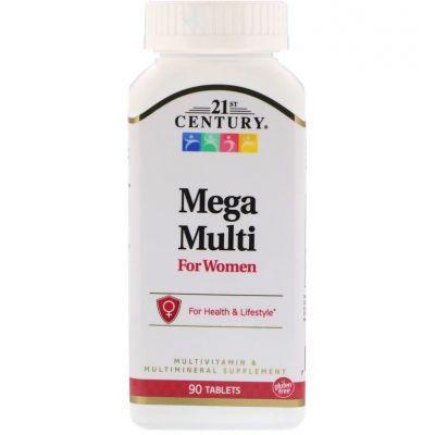 Натуральний вітамінний комплекс для жіночого здоров'я виробництва 21st Century США