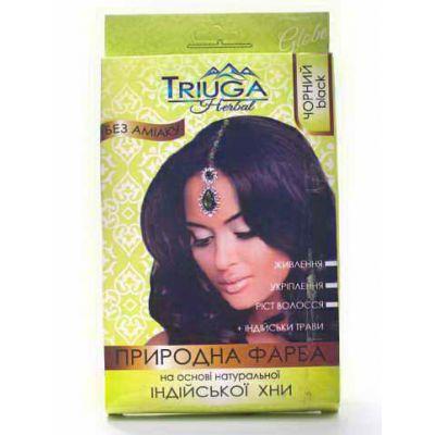 Чорна фарба для фарбування волосся на основі хни