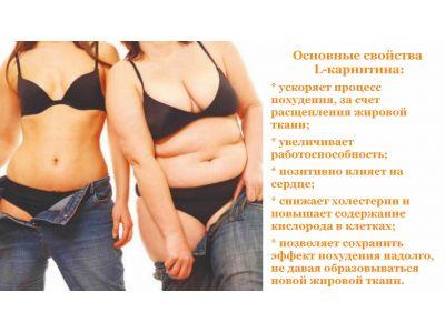 L карнітин для схуднення