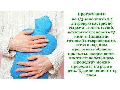 Лист Ліщини при простатиті та аденомі