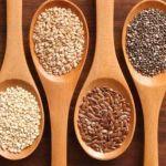 Сухе насіння лікарських рослин